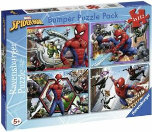Ravensburger-Puzzle-112-Pieces-Bumper-Pack-4-Puzzles-Spider-Man