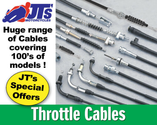 THROTTLE CABLE MADE IN JAPAN KAWASAKI Z250 B1 Scorpion Spokes PULL A
