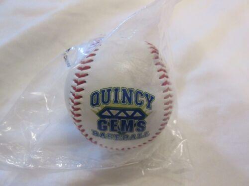 Quincy Gems Baseball PROMO BOULE marque Neuf Scellé Diamond Sports Cicl Illinois il