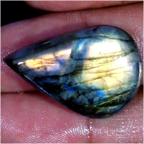 100/% Natural Super Azul Multi intermitente Labradorita mezcla Cabujón piedras preciosas AC134