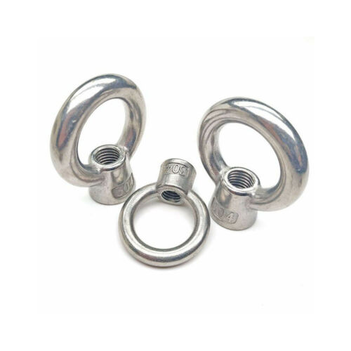Lifting Eye Nuts Stainless Steel M6M8M10M12M16M20 Lifting Female Eye Nut 304
