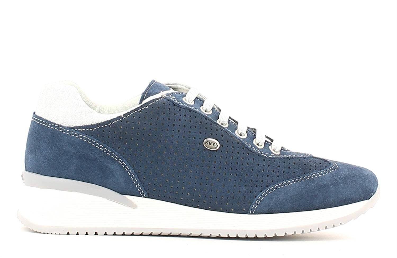 KEYS 5211 AVIACIÓN chaussures Pantoufles femmes piel ante cuña casual de