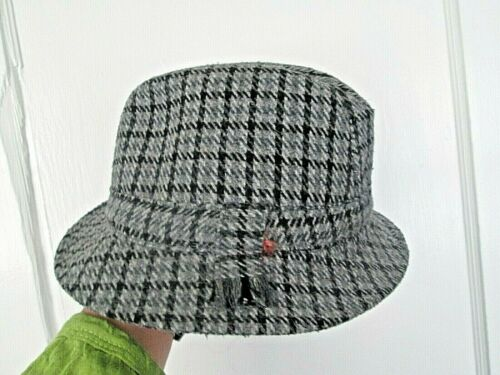 Shandon Headwear Cork grey color Tweed Hat Woven W