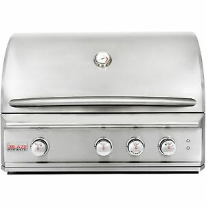 Blaze Professional 3-Burner Built-In Propane Gas Grill With Rear Infrared Burner
