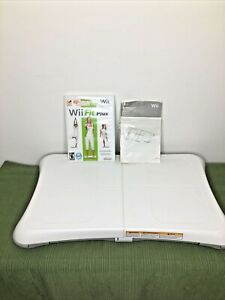 Nintendo Wii Fit Plus with Balance Board Tested Works Exercise Fitness