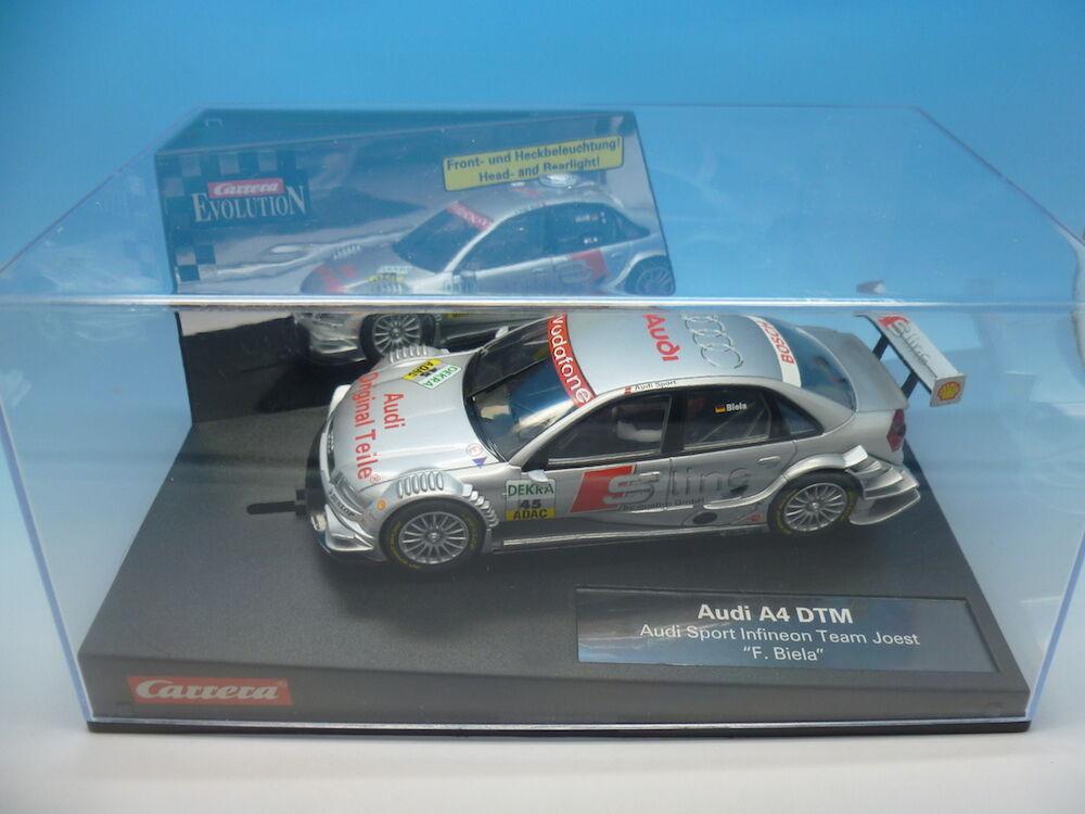 Carrera Evolution Audi A4 DTM, Audo Sport Infineon Team Joest, Driver No.45, Ref