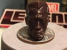 "Marvel legends Movie BLADE (WESLEY SNIPES) 6"" Head Cast"