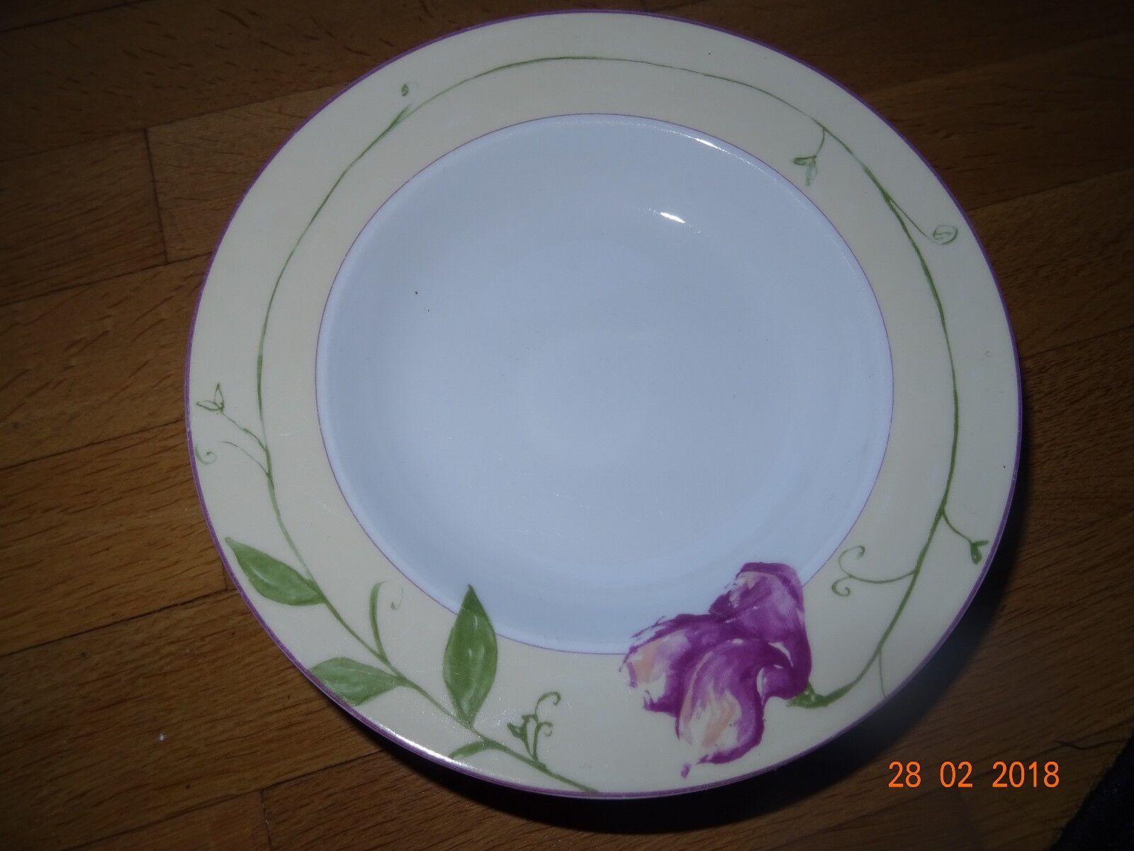 Schloß Amalienburg Mohn Rosan Porzellan Teller Suppenteller Landhaus Küche | Qualität Produkte
