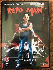 Emilio Esteve Harry Dean Stanton REPO MAN ~ 1984 Alex Cox Cult Classic | DVD