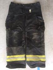 Firefighter Janesville Lion Apparel Turnout Bunker Pants 40x34 Black 2008