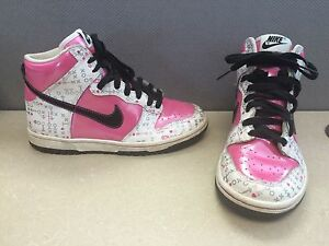 quality design dad1a 7e808 Image is loading NIKE-DUNK-HIGH-GS-316604-601-VIVID-PINK-