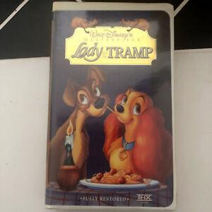 Vintage Lady The Tramp Vhs 4673 Walt Disney Masterpiece Collection Mint Ebay