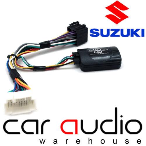 For Suzuki Splash 2009 On XTRONS Car Stereo Radio Steering Wheel Interface Stalk
