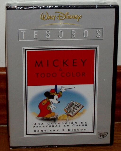 TESOROS DISNEY MICKEY A TODO COLOR VOL.1 (1935-1938) 2 DVD NUEVO (SIN ABRIR) R2