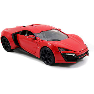Jada-Toys-Fast-And-Furious-Lykan-Hypersport-Metals-Die-Cast-Car-NEW