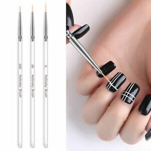 3pcs-Nail-Art-Brush-Painting-Drawing-Pen-Liner-Kit