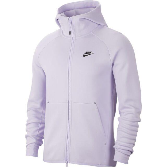 Nike Tech Fleece Full Zip Hoodie Men 928483 539 Lavender Mist Hoody Size 2xl Xxl For Sale Online Ebay