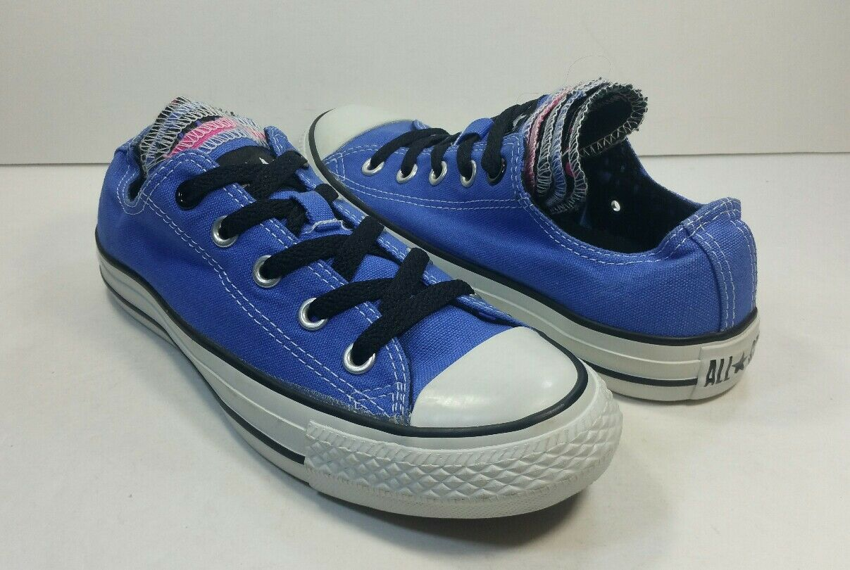Converse All Star Low Top Multi Tongue  Chaussures  bleu Chucks 136571F -