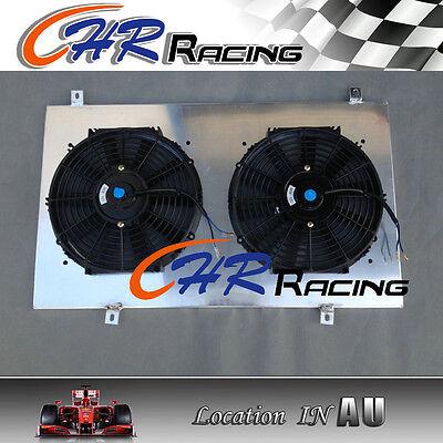 aluminum radiator shroud + fan NISSAN SKYLINE S13 CA18 R32 RB20 GTR GTS