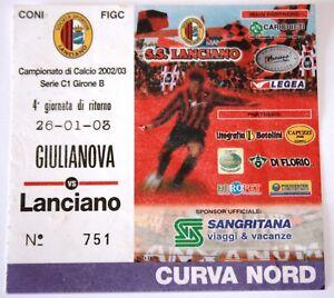 BIGLIETTO-CALCIO-GIULIANOVA-LANCIANO-2002-03-CURVA-NORD