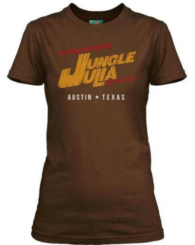 DEATH PROOF inspired JUNGLE JULIA Damen T-Shirt