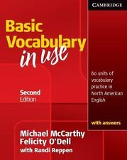Vocabulary in Use Basic Student's Book with Answers by Michael McCarthy (English