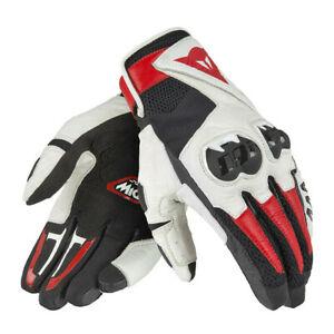DAINESE-Mig-C2-sportliche-Sommer-Handschuhe-schwarz-weiss-rot-Gr-XL-10