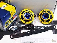 Perrin Mounting Bracket & Hella Horn W/ Wiring Harness For 02-07 Wrx/ Sti