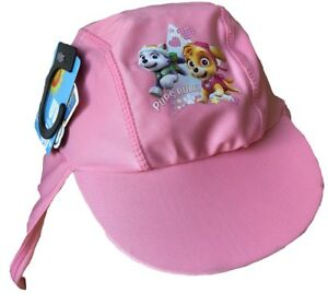 separation shoes b9af7 5b90c Image is loading Paw-Patrol-Girls-Sun-Hat-with-UPF-40-