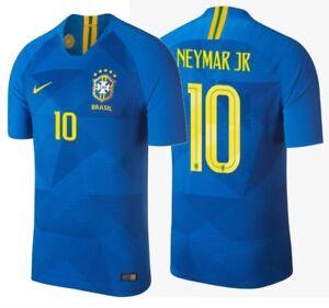 Leap Contest valley  NIKE NEYMAR JR. BRAZIL VAPORKNIT VAPOR MATCH AWAY JERSEY WORLD CUP 2018. |  eBay