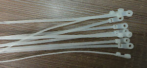 50-PCS-Mount-Nylon-Cable-Tie-White-3-6x200mm-WxL