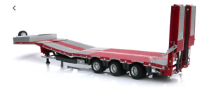 MARGE MODELS 1 32 SCALE NOOTEBOOM LOW LOADER (RED), METAL GRIDS