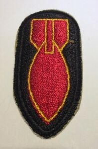 Original-WWII-U-S-ARMY-BOMB-DISPOSAL-PERSONNEL-CUT-EDGE-FULL-COLOR-PATCH
