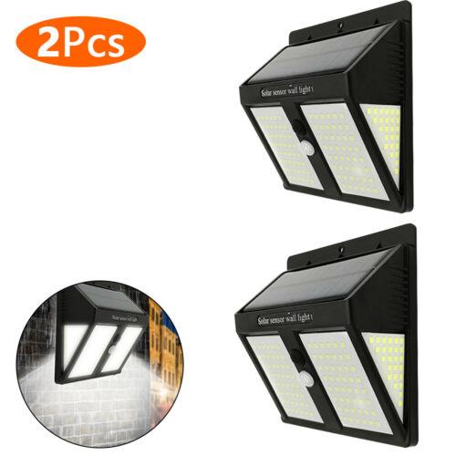 Solar Powered PIR Motion Sensor 146 LED Light Outdoor Garden Security Wall Light