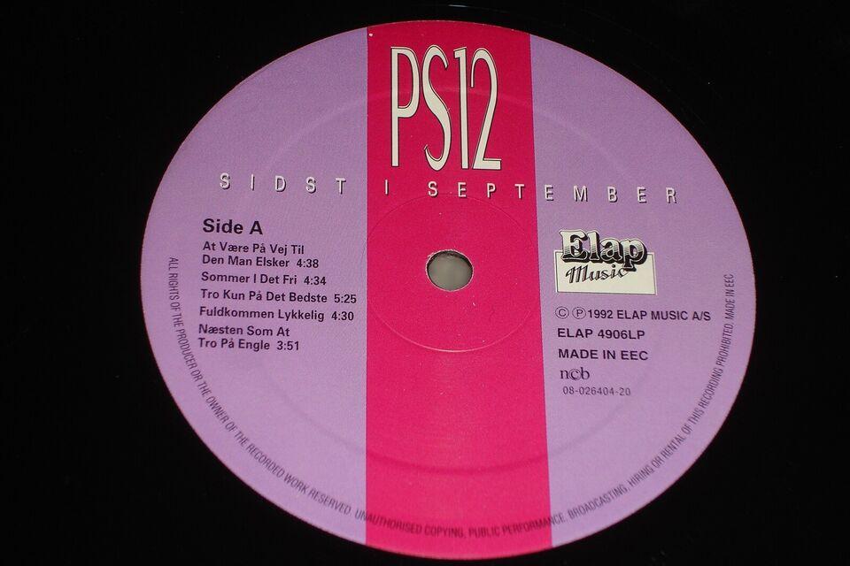 LP, PS12, Sidst I September
