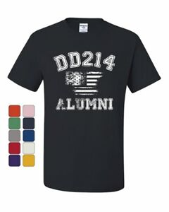 DD214-Alumni-Distressed-American-Flag-T-Shirt-Military-Veteran-Tee-Shirt