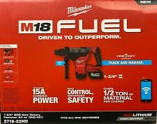 Milwaukee 2718 22hd M18 Fuel 1 34 Sds Max Rotary Hammer Kit With 120 Batteries