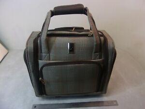 London Fog Under Seat Rolling Bag Ebay