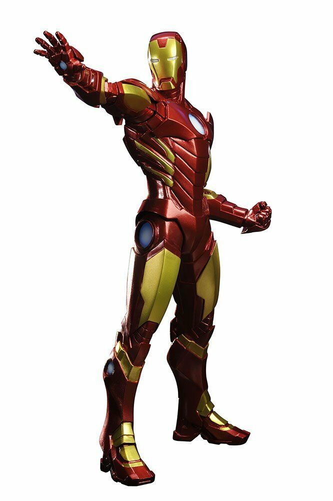 MARVEL NOW IRONMAN RED COLOR VARIANT ARTFX+ STATUE KOTOBUKIYA 1 10 SCALE