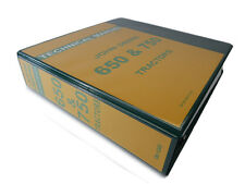 John Deere 650 & 750 Tractor Technical Service Repair Shop Manual Book TM-1242