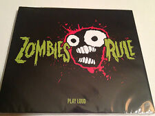 """Zombies Rule - debut CD """"Play Loud"""" by Mike E Clark -Electric Lab Recordings"""