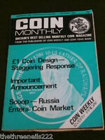 COIN MONTHY - RUSSIA ENTERS COIN MARKET - OCT 1975