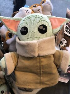 "New Disney Stars Wars Galaxy/'s Edge Toydarian Baby Yoda The Child 8/"" Knit Plush"