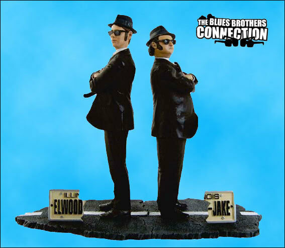 BlauS BROTHERS CONNECTION - JAKE & ELWOOD BlauS ACTION FIGURES SET -SD TOYS 2006