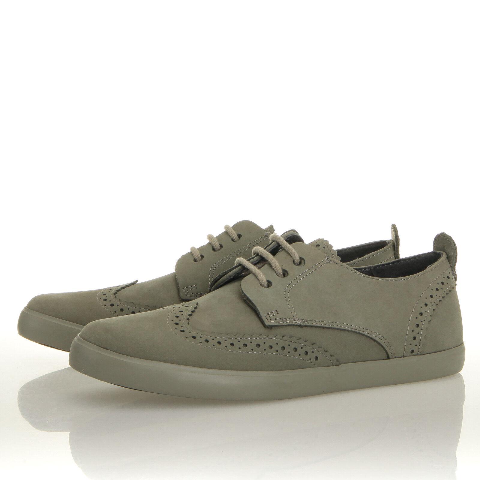 Camper Jim Nubuck Green Wingtip Sneaker- Mens 6 (EU 39) K100047