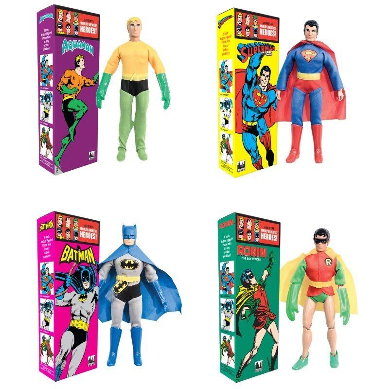 DC scatolaed azione Figues 8-in 8-in 8-in Retro Mego Emerald città Exclusive-Solid scatola Mego 097f9e