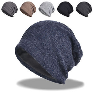 Details about Men s Winter Baggy Slouchy Oversized Long Stocking Beanie Knit  Hat Skull Ski Cap 52558a000f3