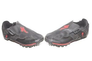 Specialized-Ground-Control-Shoes-Black-Red-Sz-39-6-5-Mountain-Bike-Cycling