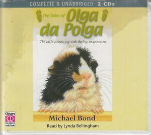 The-Tales-Of-Olga-Da-Polga-Michael-Bond-2CD-Audio-Book-Unabridged-Guinea-Pig
