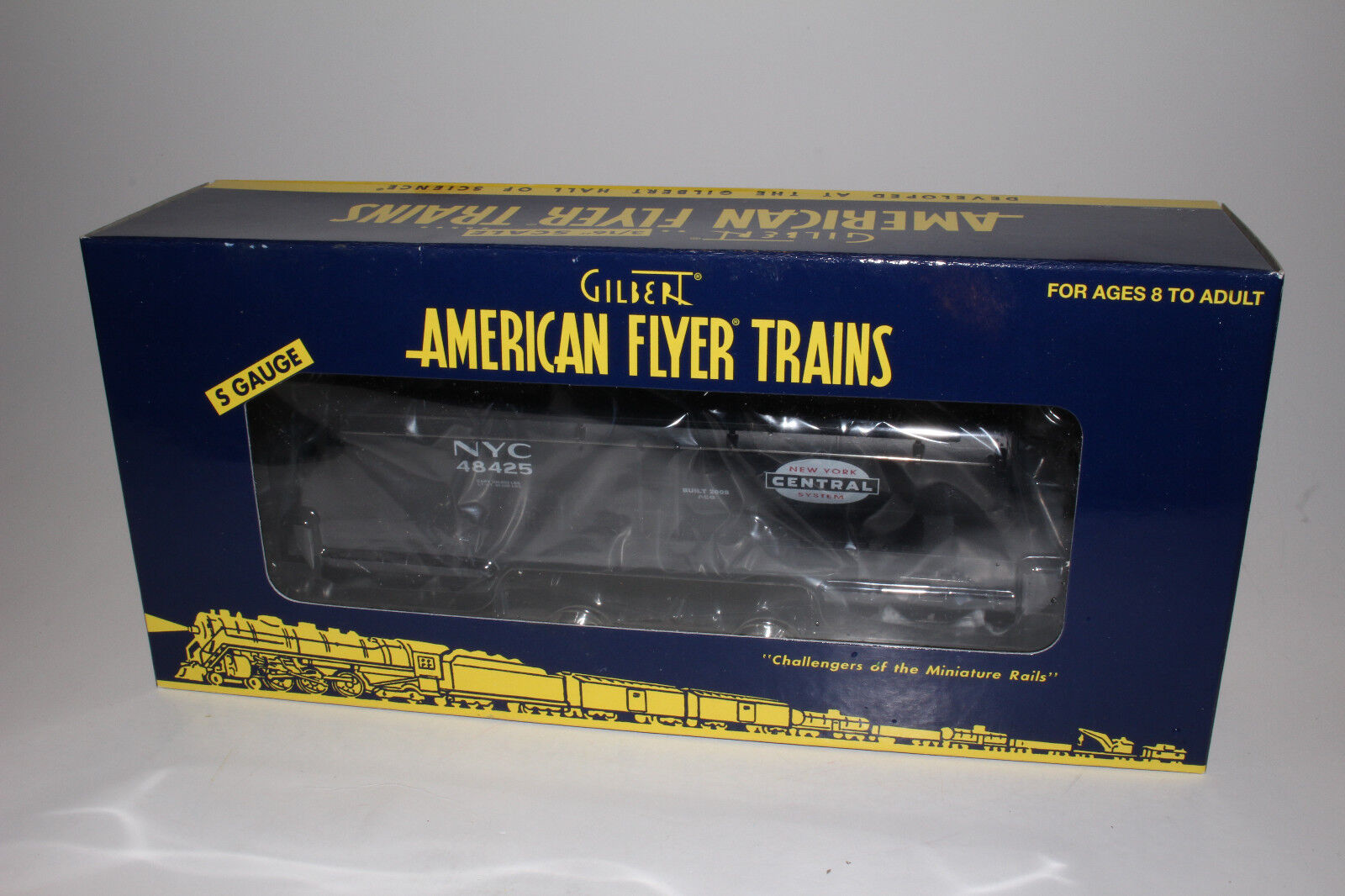 LIONEL AMERICAN FLYER NEW YORK CENTRAL 3-DOME TANK CAR, S GAUGE, NIB